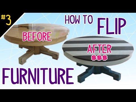 How to Flip Furniture (Diy Dork Style) – Pt 3 of 4