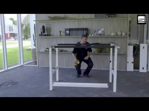 SWAN Flex 3 EL bench montage centrale kabelbak met 2 kleppen