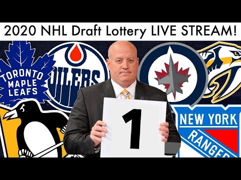 2020 NHL Draft Lottery LIVE STREAM! (PHASE 2 Alexis Lafreniere Sweepstakes & Reaction)