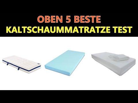 Beste Kaltschaummatratze Test 2019