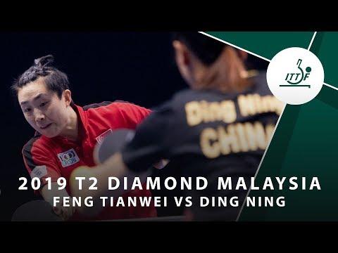 Feng Tianwei vs Ding Ning | T2 Diamond Malaysia (QF)