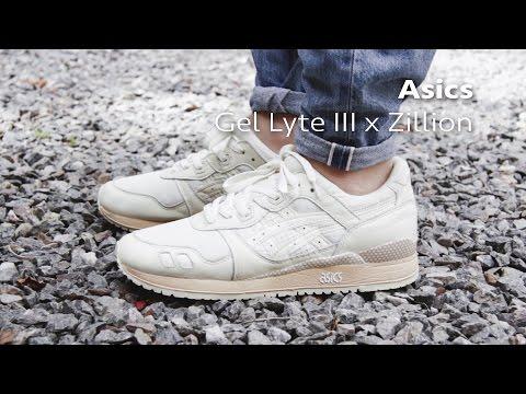Asics x Zillion Gel Lyte 3  | Pinroll Sneaker Mag