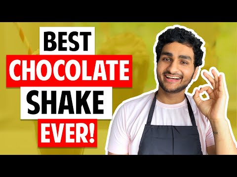 BEST CHOCOLATE MILKSHAKE EVER (FUNNY VLOG)   EASY THICK CHOCOLATE SHAKE RECIPE   COOKING WITH ANMOL
