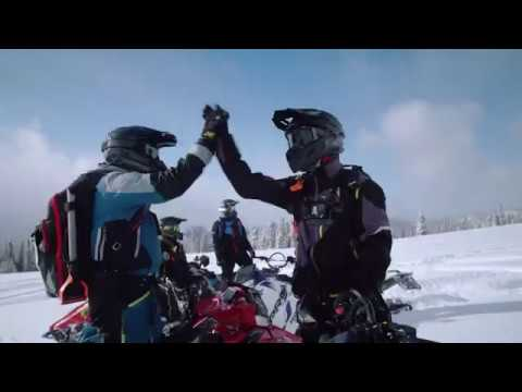 2021 Polaris 850 RMK KHAOS QD2 163 3 in. SC in Lincoln, Maine - Video 1