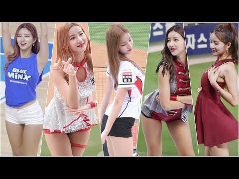 17-20시즌 김진아 치어리더 직캠 핫클립 모아모아! 8분 순삭! KT 2위 기념!!