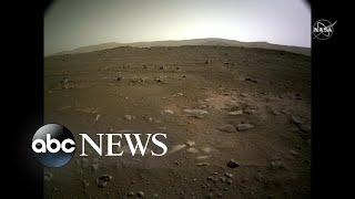 NASA przedstawia oszałamiające nowe wideo z lądowania na Marsie.