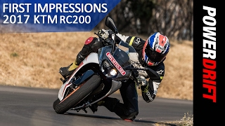 2017 KTM RC200 First Ride Impressions : PowerDrift