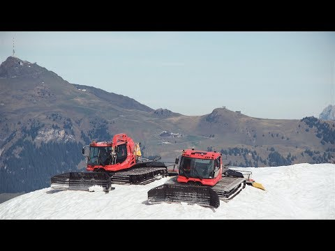Die Bergbahn Kitzbühel kurz vor dem KitzSki-Winter