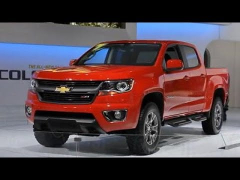 LA Auto Show: 2015 Chevrolet Colorado Walkaround With Chevrolet