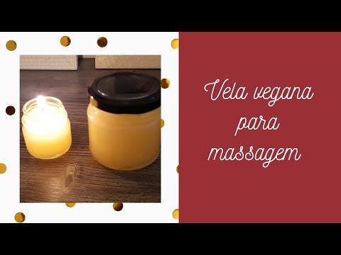 Vela Vegana de Massagem