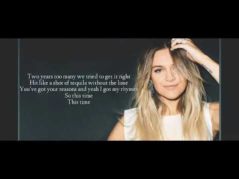 Kelsea Ballerini - Better Luck Next Time (Lyrics Video)