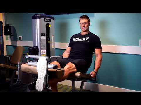Metropolitan: Leg extension machine (Alternating Legs)