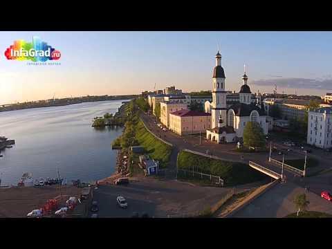 Архангельск - северный фасад России на море Белом: главные достопримечательности города