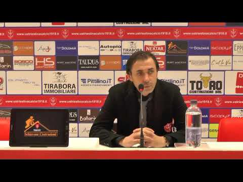 Sala stampa Triestina - Sudtirol: Carmine Gautieri