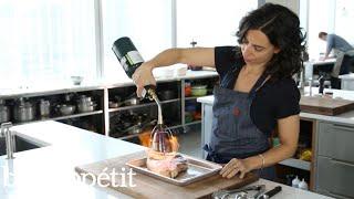 Carla Uses A Searzall Torch To Sear Steak | Bon Appétit