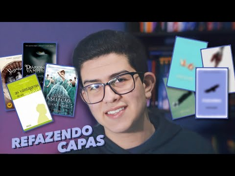 REFAZENDO CAPAS DE LIVROS FAMOSOS