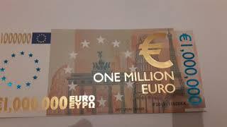 One million euro bill