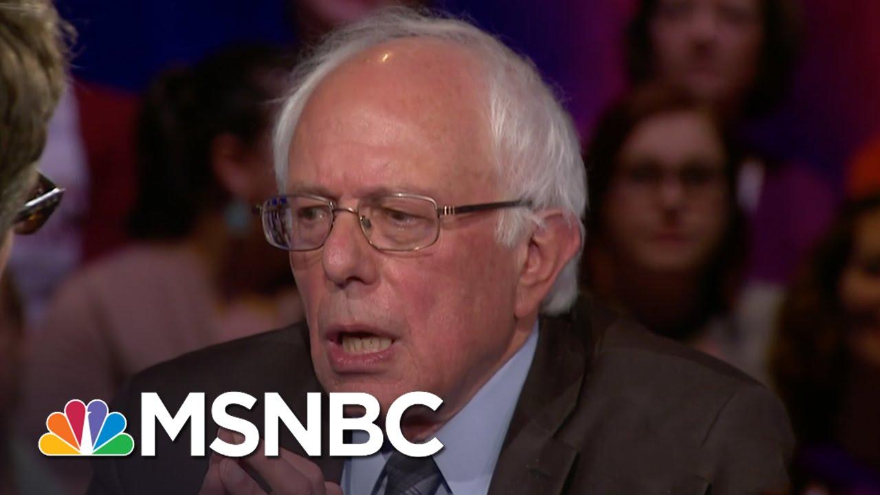 Bernie Sanders: US Has A Voting Rights Crisis | Democratic Forum | MSNBC thumbnail