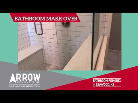 Master Bathroom and Closet Make-Over at Leawood, KS Home
