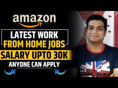 AMAZON Work from Home Jobs | Work from home | Techbin Online