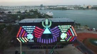 Ultra Music Festival - 2016 Construction