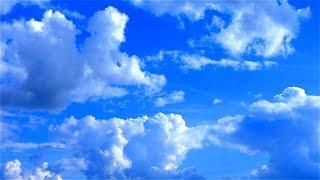 Облака в Небе. Красивое Небо с Облаками. Голубое Небо и Облака. Солнечная Погода и Белые Облака