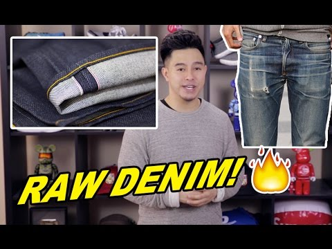 CLASSIC STYLE: RAW SELVEDGE DENIM JEANS AKA FIRE JEANS!