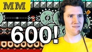 Morning Mario #600 • SUPER EXPERT (100 Mario Challenge)