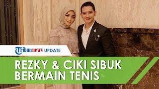 Setelah Menikah, Bukannya Bulan Madu, Rezky Aditya dan Citra Kirana Sibuk Bermain Tenis