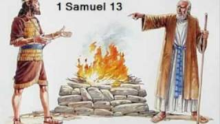 1 Samuel 13 (with text - press on more info. of video on the side)
