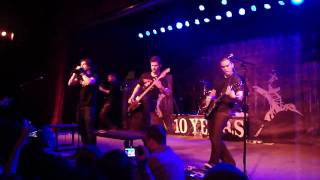 "10 Years - New Song - ""Shoot It Out"" - Live - 12/27/2009 - Knoxville - The Valarium"