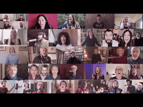 """Video: """"Sube Sube, bandera del amor"""", grandes artistas unidos en una sola voz"""