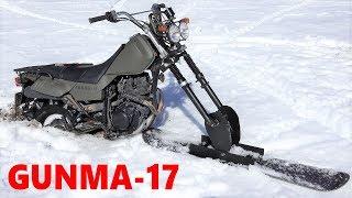 雪上バイクを作る。part4★雪上走行★