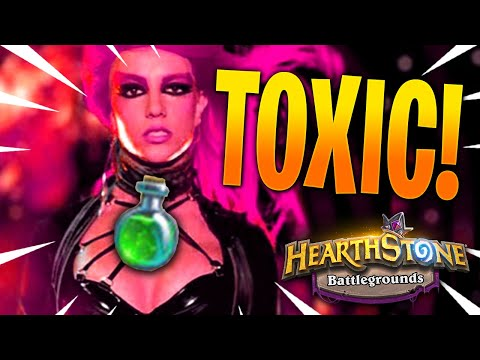 Alliestrasza Encourages Toxicity! [*Poisonous Strategies* Strictly Within Hearthstone Battlegrounds]