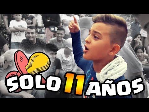 CON SOLO 11 AÑOS HUMILLÓ A SU RIVAL !! | Niños en Batallas de Rap