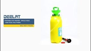 Portable Eye Washer - Single Head – Non-toxic Polythene     SKU #D1173283