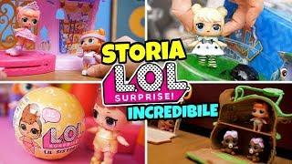 STORIA INCREDIBILE: Le LOL Surprise Aprono Una LIL Sisters