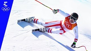 Alpine Skiing | Men's Super-G Highlights | Pyeongchang 2018 | Eurosport