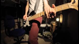 Youth Of Today - Stabbed In The Back (bass cover)