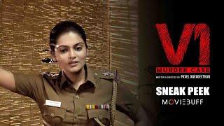 V1 - Moviebuff Sneak Peek    Ram Arun Castro, Vishnupriya Pillai   Pavel Navageethan