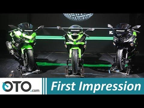 Kawasaki Ninja 250 2019 & ZX-6R | First Impression | Sekarang Punya Fitur Canggih | OTO.com