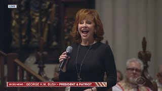 Reba McEntire Performs 'The Lord's Prayer' At GHWB Funeral