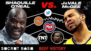 The Shaq-JaVale McGee beef became so nasty their moms got involved thumbnail