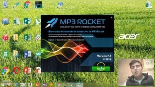 tutorial de como descargar musica de youtube mp3 rocket