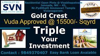 300 Sq. Yards Residential Plot for Sale in Jonnada, Visakhapatnam