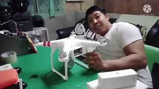 Unboxing DJI phantom 3 standard and review fly