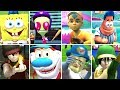 Nicktoons Mlb All Characters All Stadiums wii