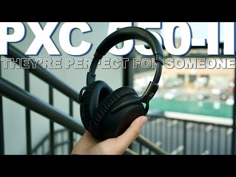 External Review Video HSO2sfmOd9k for Sennheiser PXC 550-II Wireless Headphones