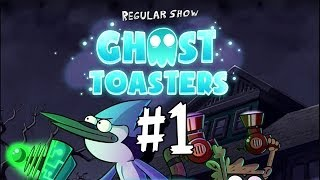 Ghost Toasters - Regular Show - Chapter 1 - Walkthrough Part 1 Stages 1,2,3,4,5,
