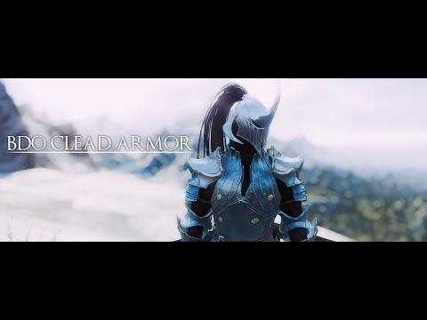 Skyrim - Blackdesert Clead armor & Testarossa Follower